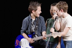 Kids Rock Bands, Vocal & Violin Ensembles Free for our Students
